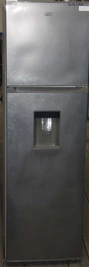 Silver defy fridge with water dispenser S036286A