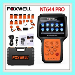 Vehicle diagnostic tool FOXWELL NT644 PRO OBD2 Automotive Scanner Full System ABS Airbag EPB DPF Oil Service Odometer Reset