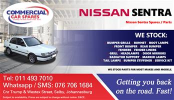 Nissan Sentra 97- parts and spares for sale