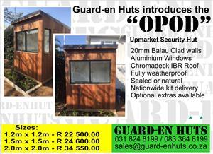 "Security hut - the ""Opod"""