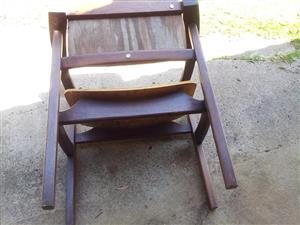 Dark wooden shelf drawer for sale