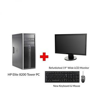 HP COMPAQ ELITE 8200 Core i3 Tower PC
