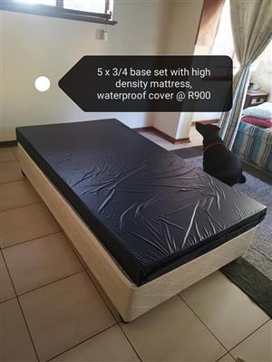 3/4 Bed and base for sale