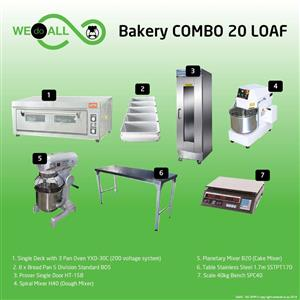 Bakery Combo 20 loaf BC20L