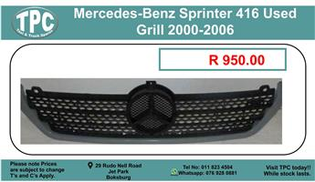 Mercedes-Benz Sprinter 416 Used Grill 2000-2006 For Sale.