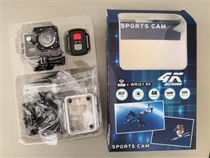 4k Action sport camera with wifi and remote