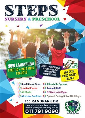 Nursery/Preschool Randpark Ridge