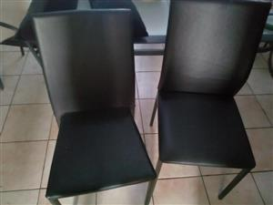 Black leather office chairs for sale