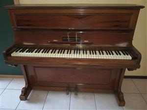Second hand upright piano
