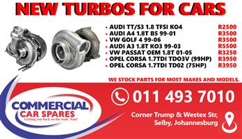 New Turbos For Cars