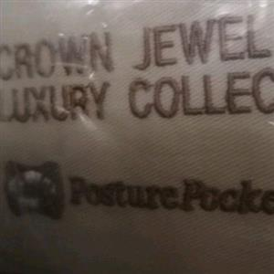 2 x Crown Jewel Luxury Collection PosturePocket Single Bed Mattresses - Brand New. Grand Firm.