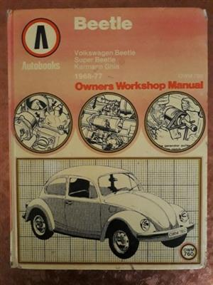 Beetle - Autobooks - Owners Workshop Manual - 1968-77.