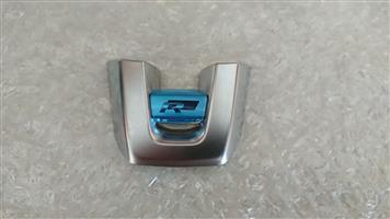 Golf, CC, Passat, Tiguan, Scirocco R Line Steering Wheel Emblem