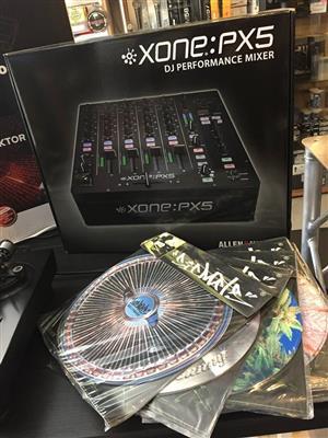 Allen & Heath Xone:PX5 4-channel Digital DJ Mixer
