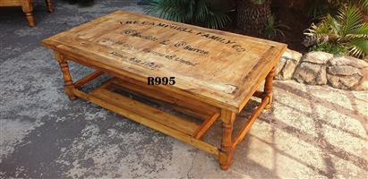Classic Campbells Coffee Table (1130x725x435)