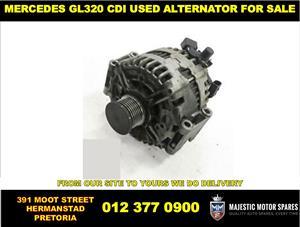 Mercedes Benz GL320 CDI used alternator for sale