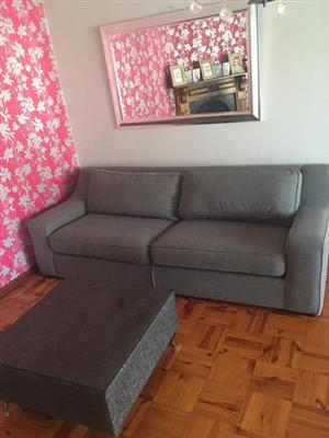 Coricraft 3 seater couch + coffee table ( excellent condition)