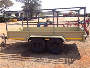 Grey Verrigter 2.7 Ton Double Axle Trailer New Trailer