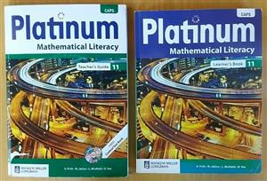 CAPS Platinum Mathematical literacy. Teachers guide 11 with cd.
