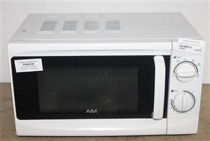 AIM MICROWAVE OVEN WHITE S039050A #Rosettenvillepawnshop