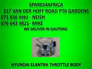 Hyundai Elantra throttle body for sale.