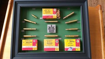 Mauser cartridge collection
