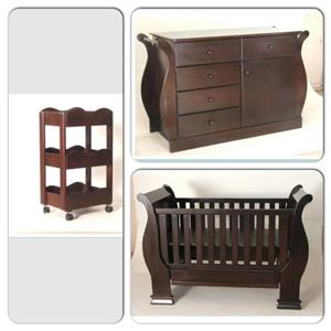 Cot/compactum/nursery organiser for sale