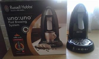 Coffee pod brewing system like new