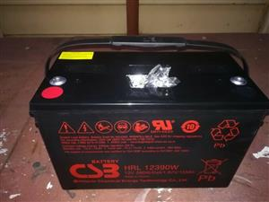 Used, Csb Deep Cycle Batteries For Sale, Csb Durable Battery 100Ah Best For Indoor And Outdoor Use. for sale  Johannesburg - Central