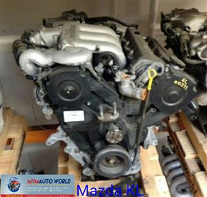 Imported used MAZDA 626/CAPELLA 2.5L V6, KL engine Complete