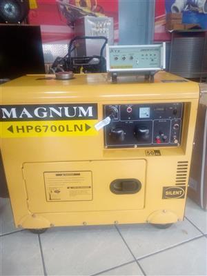 Magnum Genorator 6.5 kva / 5 kw DIESEL price incl vat