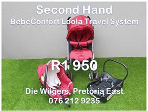 Second Hand BebeConfort Loola Travel System