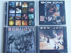 Bon Jovi CDs - in good condition - R 450 - Tel: 083 4755 751