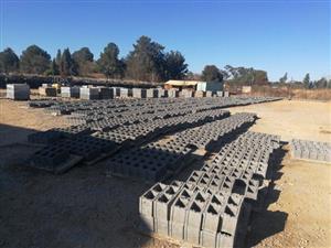 Brick plant machinery