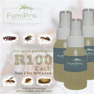 Cocroach Spray for Fumigation