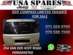 JEEP COMPASS LIMITED USED TAILGATE FOR SALE