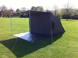 Oztent rv5 with tag along