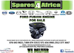 FORD FUSION ENGINE