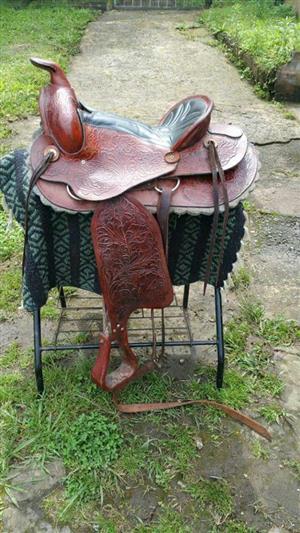 """15"""" Alpasso Western Saddle"""