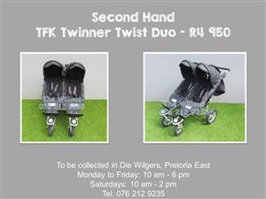 Second Hand TFK Twinner Twist Duo (New Tyres)