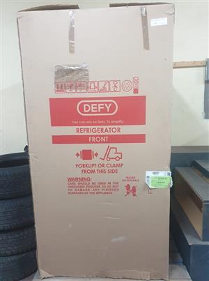 Brand new double door Defy fridge