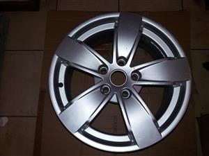 "Selling My spare 17"" Mag rim form  Chevrolet Lumina SS bakkie or car.  There was a 235/45/17 tyre on."