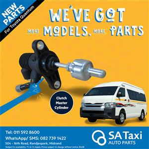 New Clutch Master Cylinder suitable for Toyota Quantum - SA Taxi Auto Parts quality spares