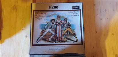 Collection of 2 LP'S of Ruddicore by WS Gilbert and Arthur Sullivan