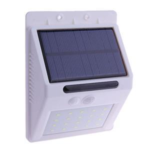 Techme 20LED Solar Outdoor Wall Light with Motion PIR Sensor