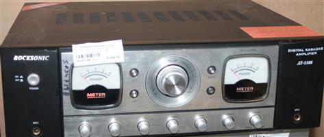 S034719B Rocksonic amplifier - no remote av 2288 #Rosettenvillepawnshop