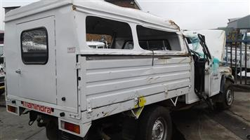 Mahindra Balero 2009 2.5 turbo diesel Stripping for spares