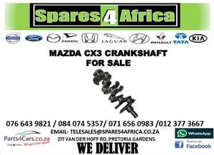 MAZDA CX3 CRANKSHAFT