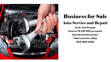 Business For Sale - Auto Service and Repair.