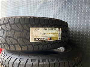 4 x  Hankook 265/65R17 112T All terrain tyres
